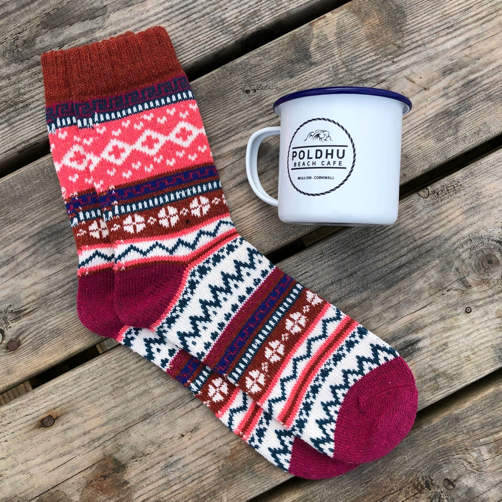 Ladies Sock & Cup Gift Set
