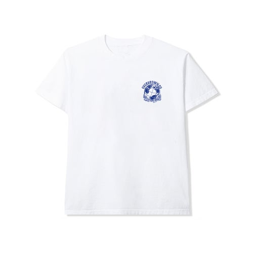 Image of 'TEMPLE OF HEALTH' TEE IN WHITE