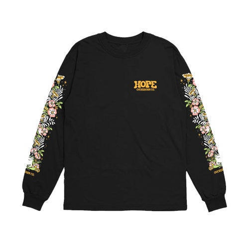 Image of 'HOPE' LONG SLEEVE IN BLACK