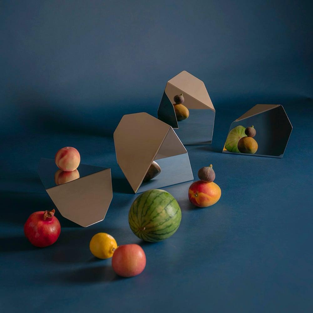 Image of HOME DECO - TABLE MIRROR SET (3 pieces)