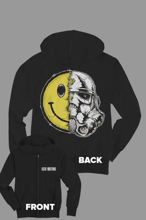 Image of Acid Trooper Zip Hoodie
