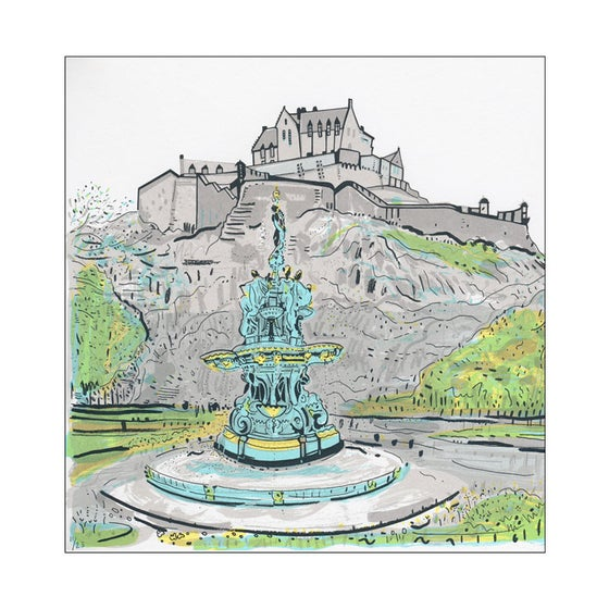 Image of Ross Fountain screen print