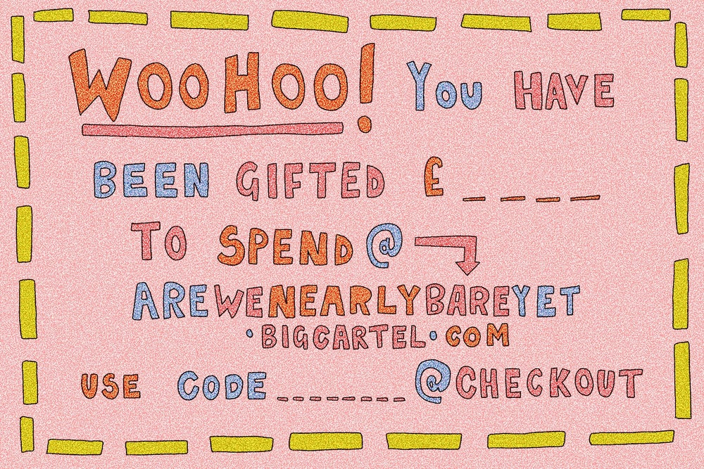 Image of AWNBY GIFT VOUCHER