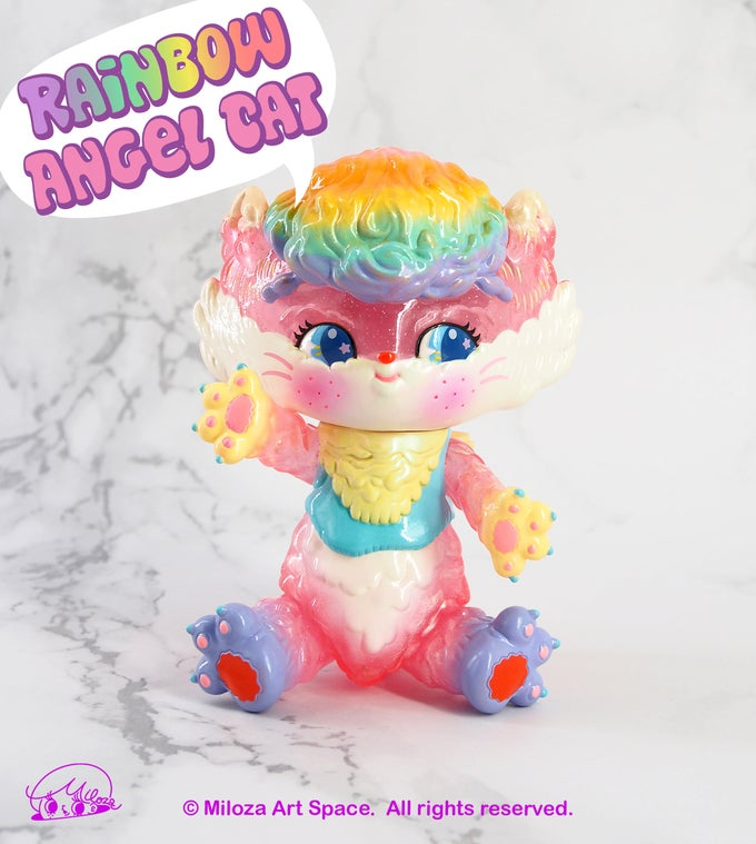 Image of Rainbow Cat [Glitter Pink Ver.]