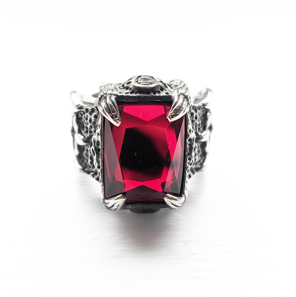 Image of Red Coffin Rock Ring