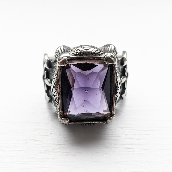 Image of Purple Coffin Rock Ring