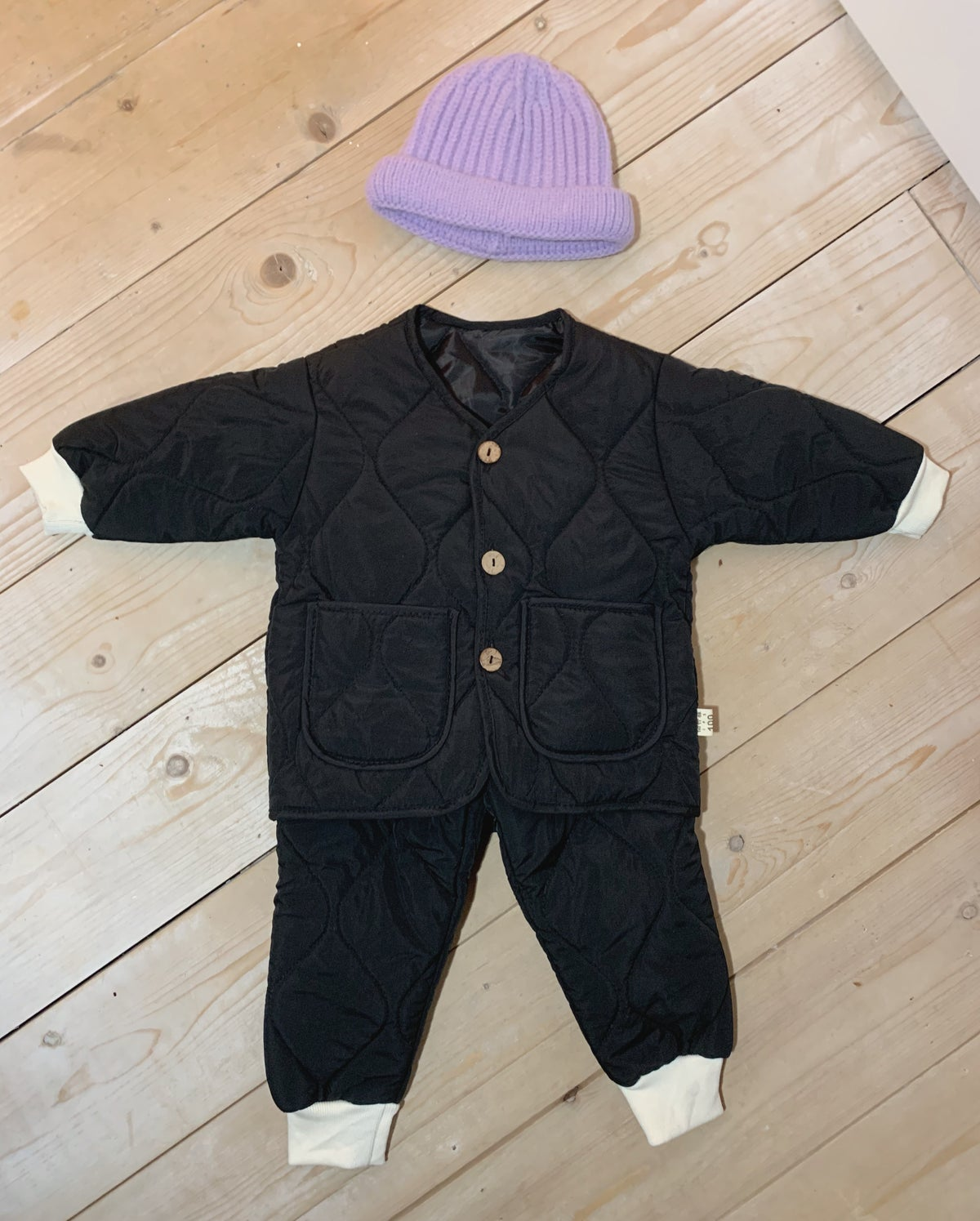 Image of THE MO TRACKSUIT - BLACK