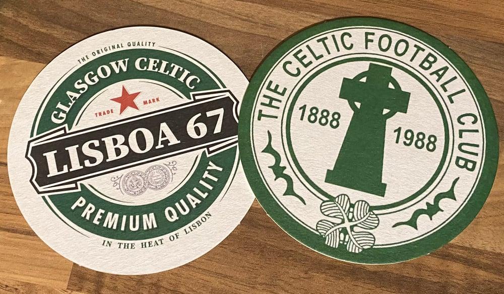 Celtic Beer Mats