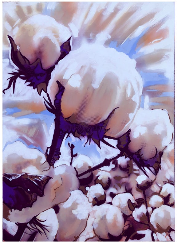 White gold( cotton )