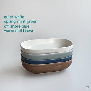 Yumiko Iihoshi Porcelain ReIRABO oval plate S