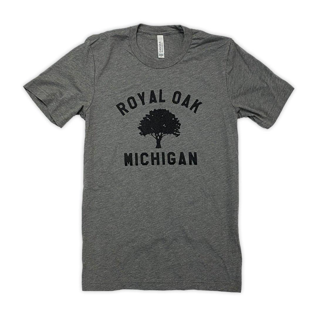 Image of Royal Oak Tri-Blend Shirt (Grey)