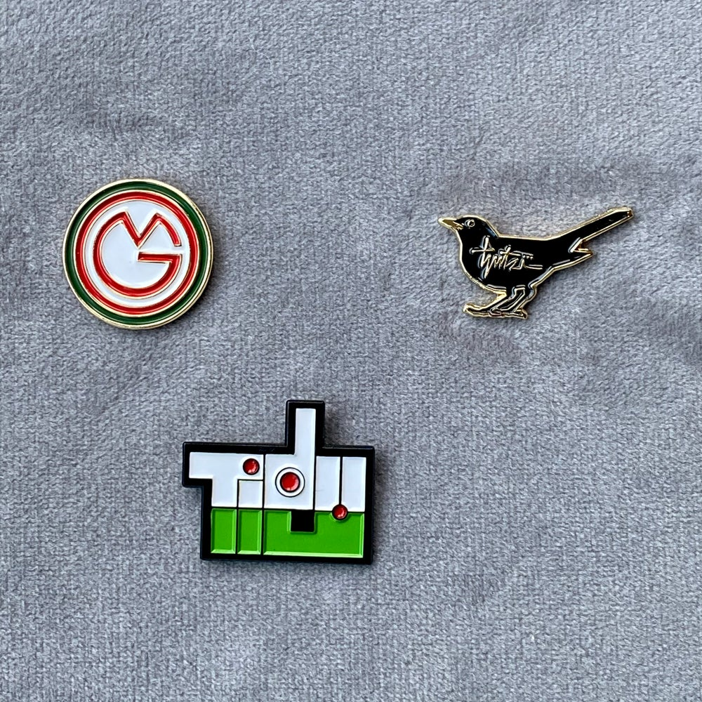 Tidy enamel pin badge. - now available!