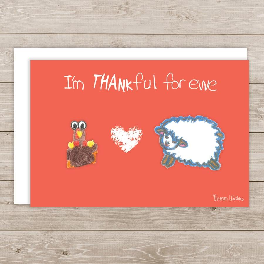 Image of I'm thankful for Ewe