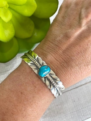 The Abey Turquoise Cuff