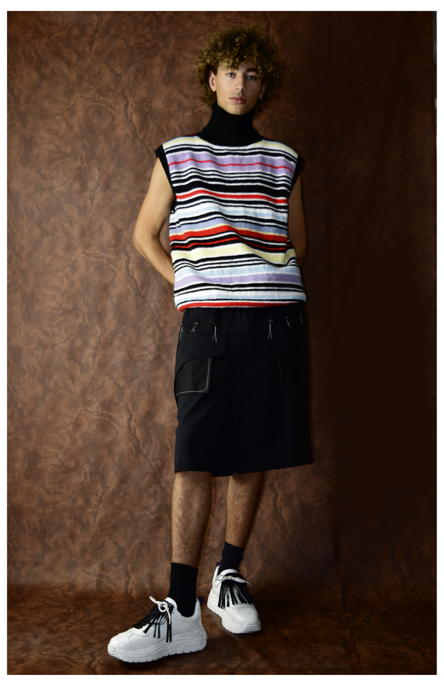 Image of AW20 - SLEEVELES KNIT SWEATER