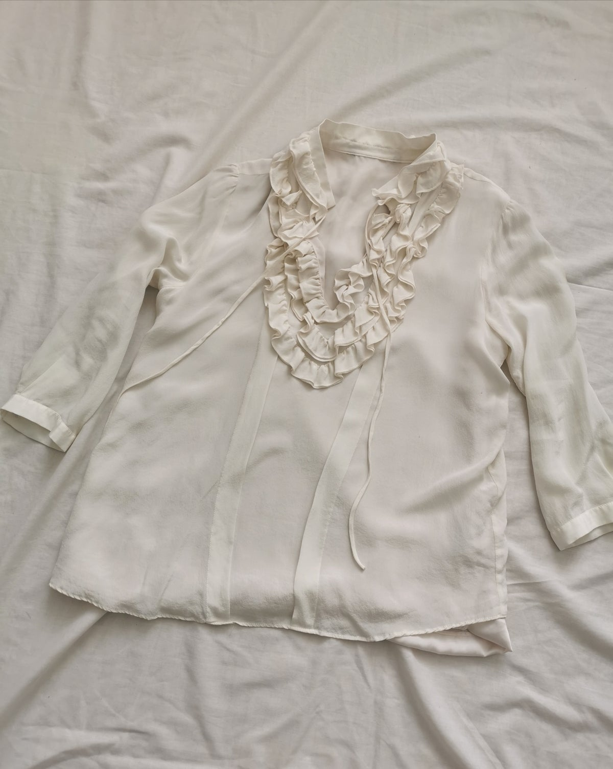 Image of frill frill top