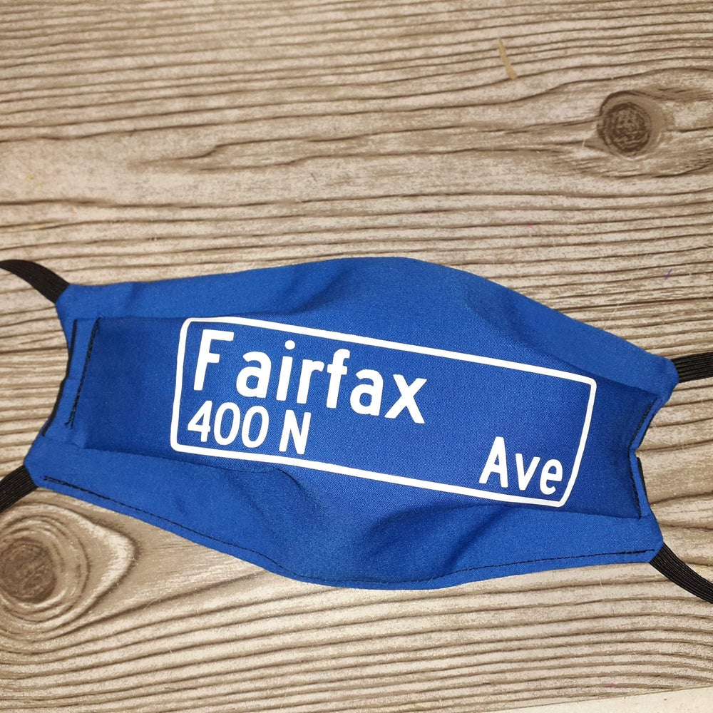 Image of Street Name Mask Cover