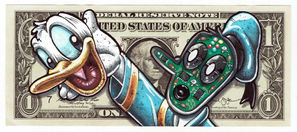 Image of Real Dollar Original. Face Off Donald.