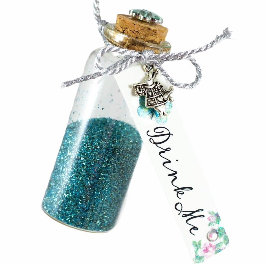 "Image of Alice in Wonderland ""Drink Me "" Bottle"