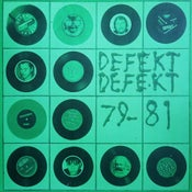 Image of Defekt Defekt ‎– 79-81 LP (green vinyl)