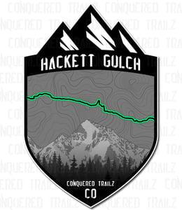 "Image of ""Hackett Gulch"" Trail Badge"
