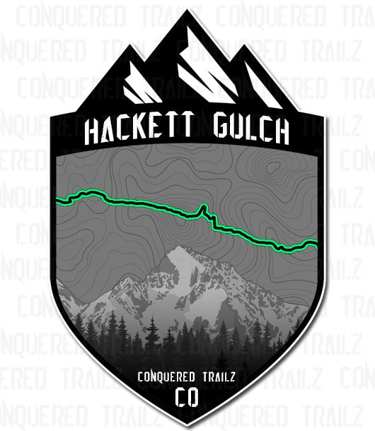 "Image of ""Hackett Gulch"" Trail Badge"