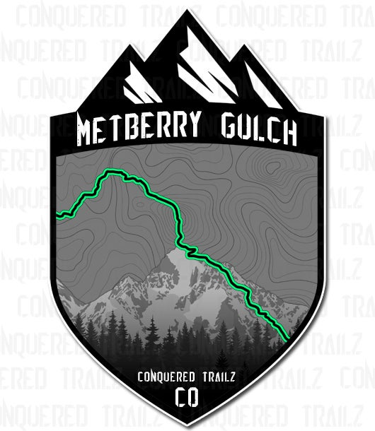 "Image of ""Metberry Gulch"" Trail Badge"
