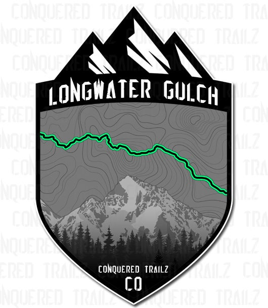 "Image of ""Longwater Gulch"" Trail Badge"