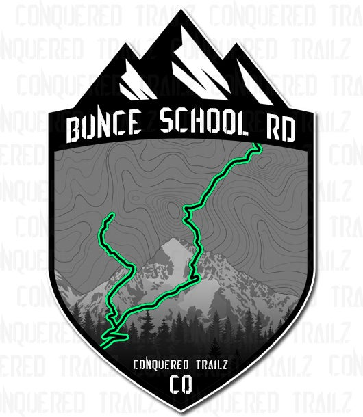 "Image of ""Bunce School Rd"" Trail Badge"
