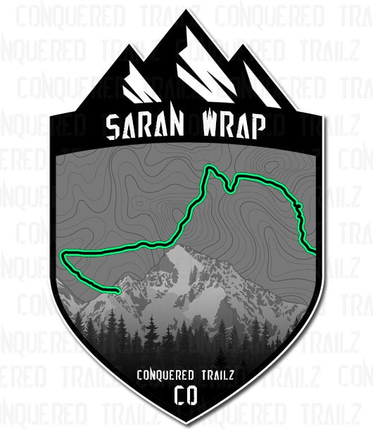 "Image of ""Saran Wrap"" Trail Badge"