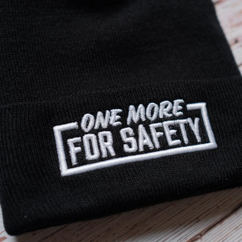 """The Capsmith X Valentina Vee """"One More for Safety"""" Collab Beanie"""