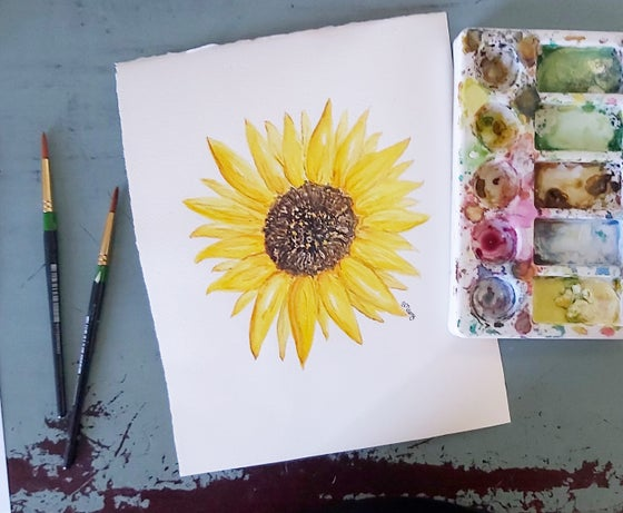 Image of Sunflower Fine Art Print