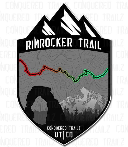 "Image of ""Rimrocker Trail"" Badge"