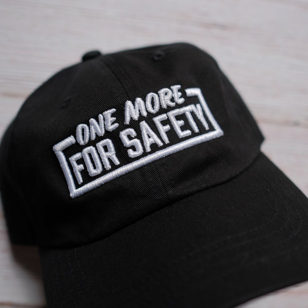 """The Capsmith X Valentina Vee """"One More for Safety"""" collab dad hat"""