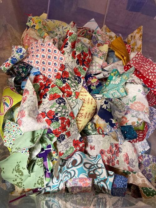 Image of Feedsack scrap bag!