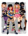 Batgirl Derby Squad