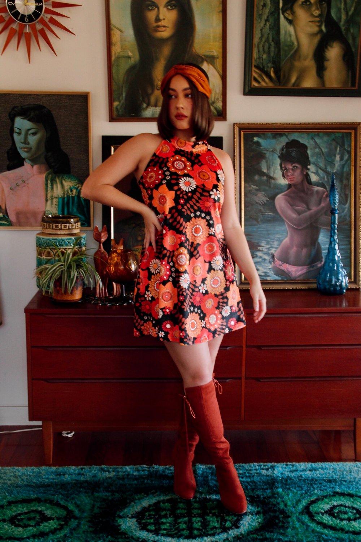 Velvet dreams mini in Lover Lover red