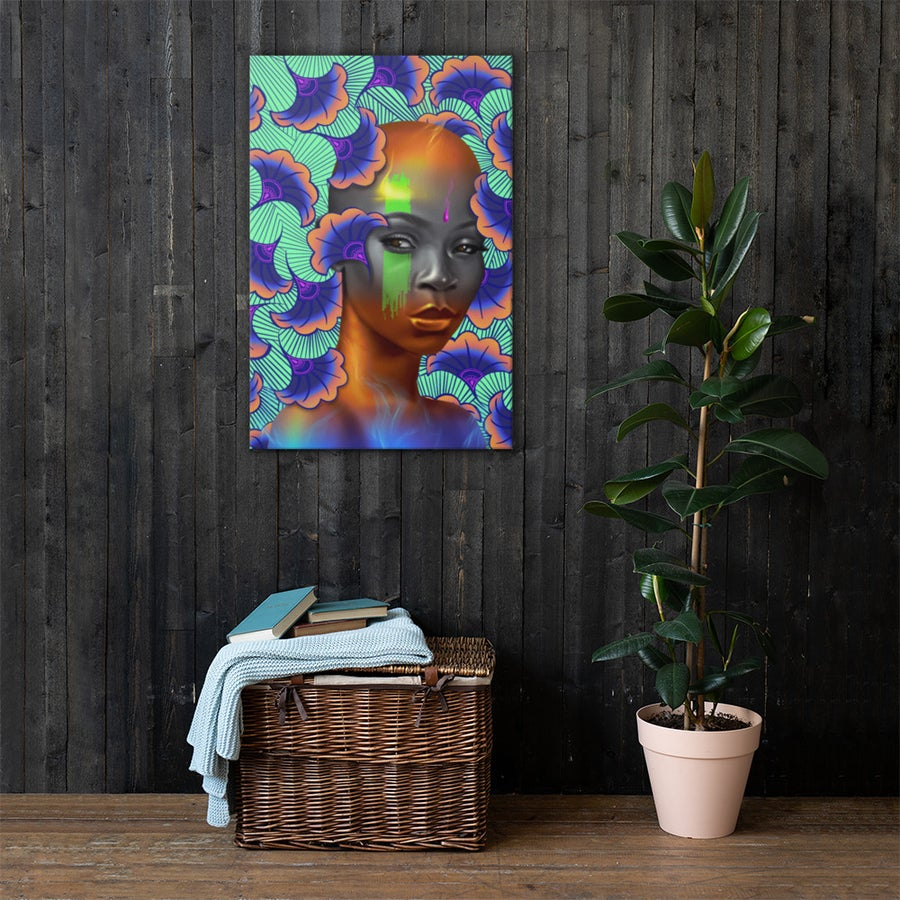 Image of Ares Flame Canvas Print