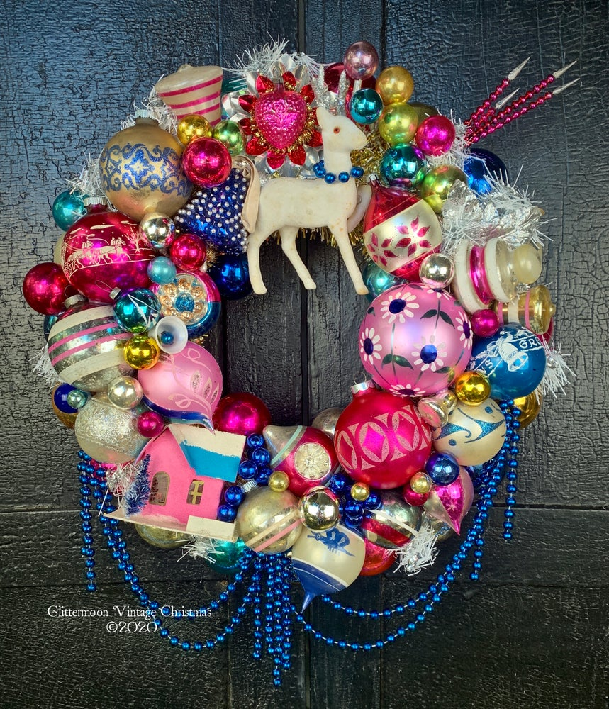 Image of Pink Carnival Wreath
