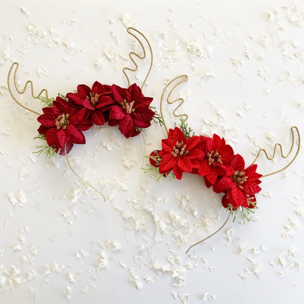 Image of Floral Antlers Classic