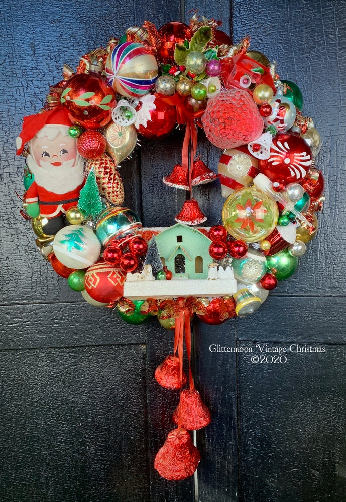 Image of Santa Cutie Wreath