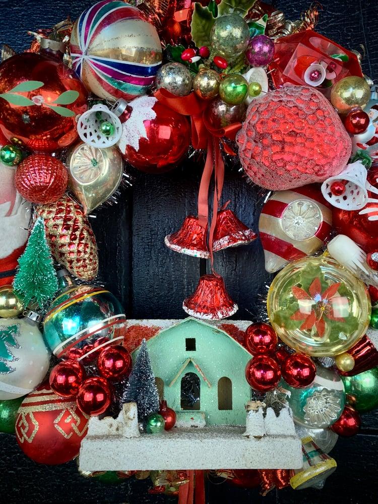 Image of Santa Cutie Wreath