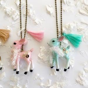 Image of Vintage Deer Necklace