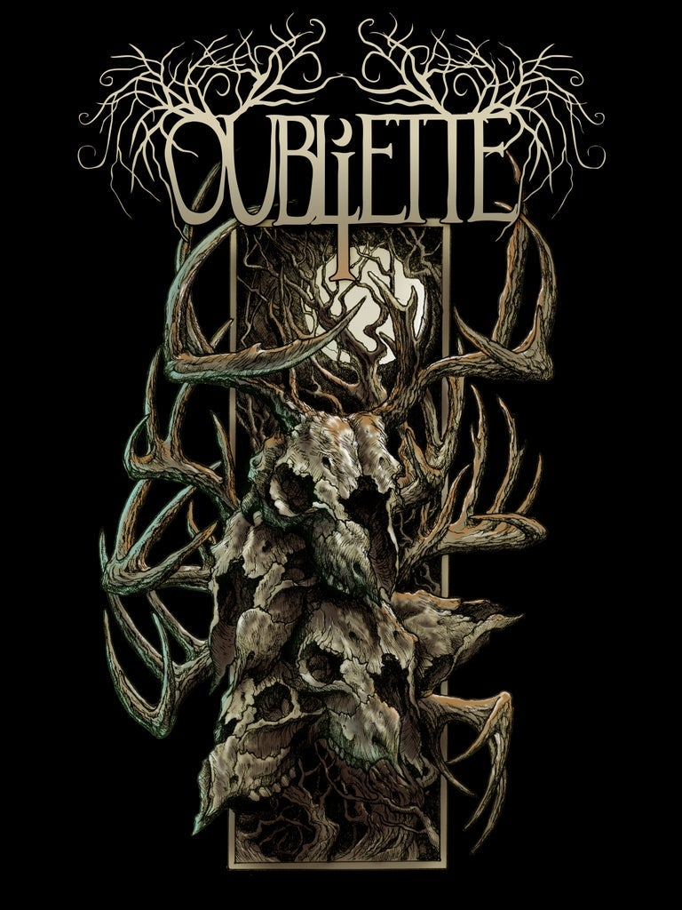 Image of OUBLIETTE - Barren - Wall Flag