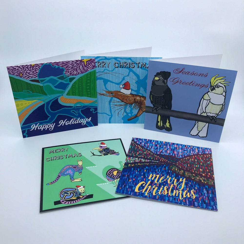 Image of 10 Pack of Mixed Christmas Cards