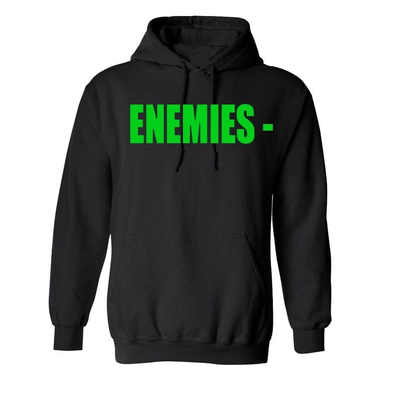 Image of Green Enemies Hoodie