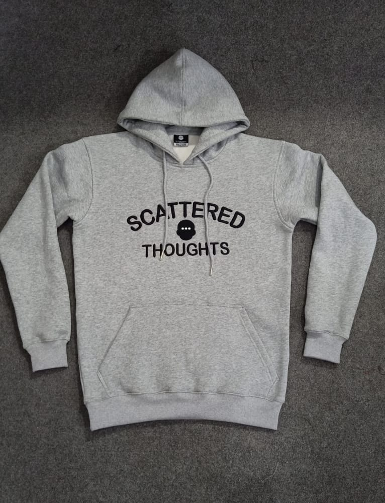 Cool Grey Scattered Sweatsuit