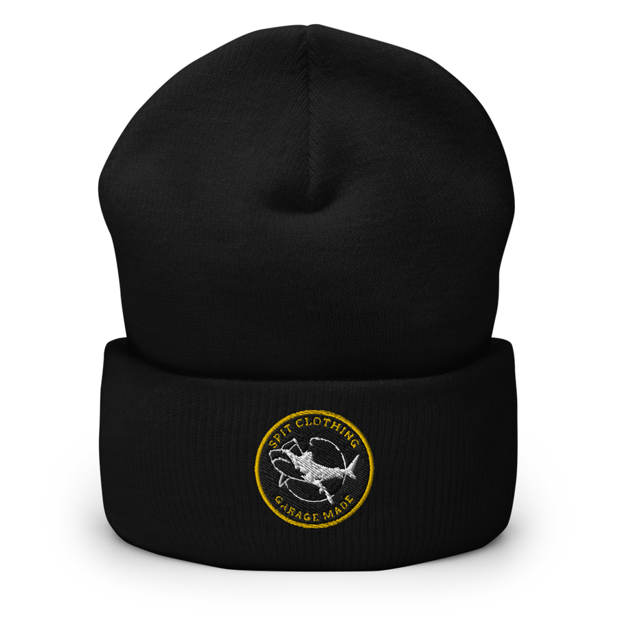 Image of Big Catch Beanie (Black)
