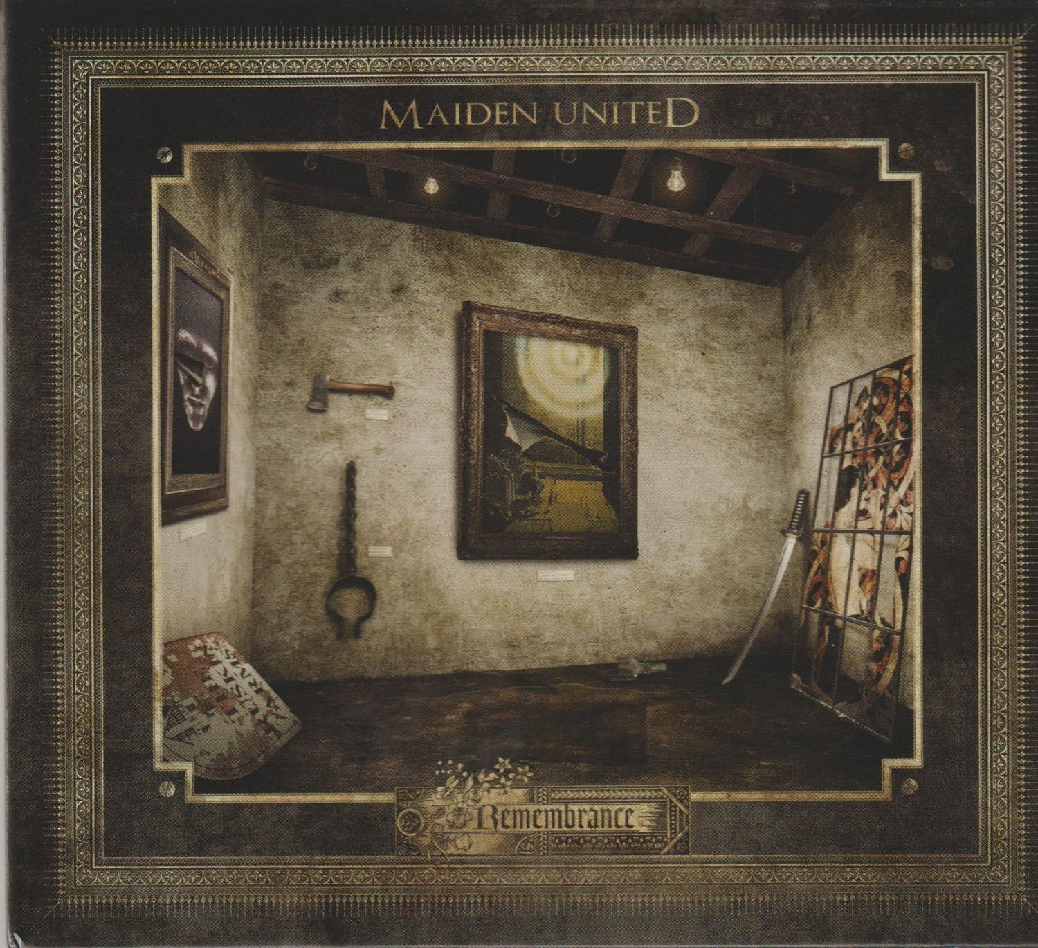 Image of MAIDEN UNITED - Remembrance - DIGI PACK CD