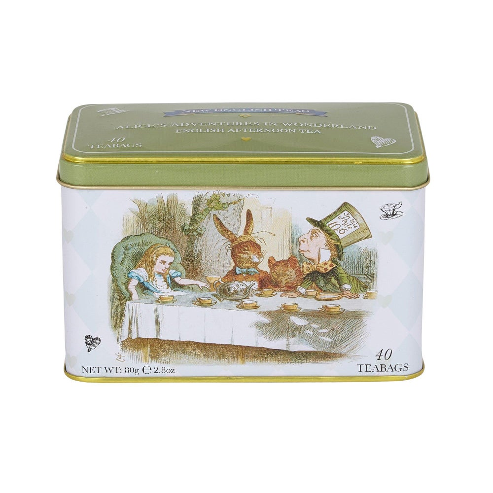 Image of Alice in Wonderland Tea Tin 40 Teabags